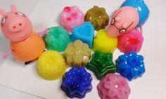 무지개 꽃 푸딩 젤리 rainbow flower pudding jelly