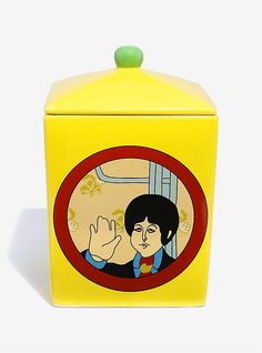 The Beatles Yellow Submarine Cookie Jar, , hi-res