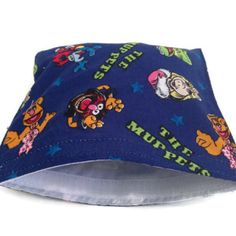 muppets reusable snack bag