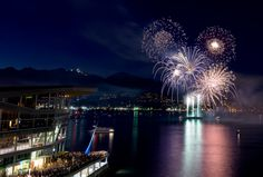 Canada Day Fireworks At Canada Place Canada Day Fireworks, Vancouver Photography, Exposure Photography, Long Exposure, Marina Bay Sands, Places, Travel, Viajes, Destinations