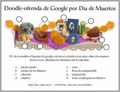 Doodle-ofrenda de Google por Dia de los Muertos