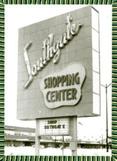Milwaukee's first shopping center opened in the and is now the site of a Walmart. This photo dates to Milwaukee Wisconsin, Lake Michigan, Abandoned Places, Abandoned Castles, Abandoned Mansions, Old Town, Signage, Old Things, Childhood Memories