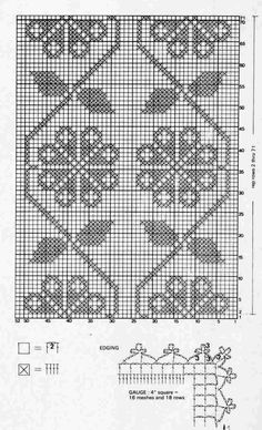 beaded wrist warmers pattern - roses§ schema di ricamo per scaldapolsi § Filet Crochet Charts, Knitting Charts, Gladiolus Flower, Tv Covers, Crochet Curtains, Wrist Warmers, Crochet Lace, Crochet Projects, Diy And Crafts