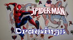 Spiderman Drawings + Surprise Egg!!! Spiderman Drawing, Business For Kids, Vivid Colors, Egg, Comic Books, Marvel, Comics, Drawings, Cover