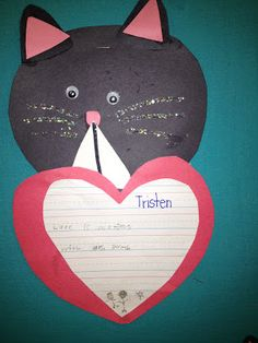 Valentine's Day Cat Idea
