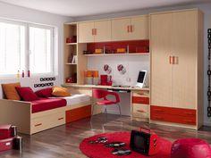 DORMITOARE COPII | MOBILA DE LUX | MOBILA DORMITOR | MOBILIER OFFICE | PRET MOBILIER Wardrobe Design Bedroom, Room Design Bedroom, Home Room Design, Small Room Bedroom, Kids Bed Design, Kids Bedroom Designs, Bedroom Inspiration Cozy, Cool Teen Bedrooms, Suites