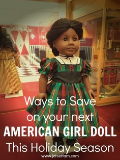How to save the most money on your next American Girl Doll and accessory purchase over Cyber Monday.