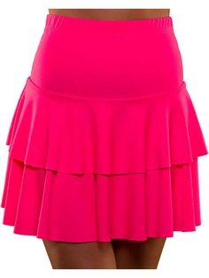 Neonmekko,+eri+värejä Cheer Skirts, Mini Skirts, Nostalgia, Fashion, Moda, Fashion Styles, Mini Skirt, Fashion Illustrations