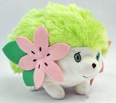 "Amazon.com: Cute 9"" Pokemon Rare Shaymin Plush Toy for Nintendo Soft Doll Kids Children Gift: Toys & Games"