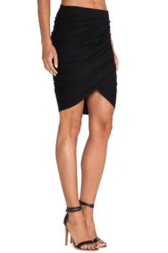JAGGAR Animal Instincts Skirt in Black