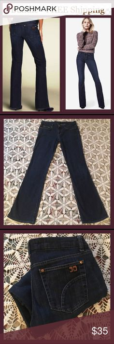 Joe's Jeans Honey Fit 29X33 Honey Fit in Perry wash. These are in excellent condition! There is some purposeful wearing/fraying on back bottom leg hem. Also, see this in first photo! The inseam is 33 inches, Rise 8 inches, Waist measures 15 inches. I'm open to offers or bundle even this single item for private discount and FREE shipping! Joe's Jeans Jeans Boot Cut
