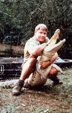 Steve Irwin. for my sister's love of him
