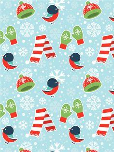 Create a Cute Winter Seamless Pattern in Adobe Illustrator
