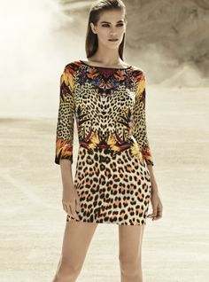 Just Cavalli leopard print summer dress by Roberto Cavalli Animal Print Outfits, Animal Print Fashion, Fashion Prints, Fashion Design, Animal Prints, Cheetah Outfits, Leopard Prints, Fashion Pattern, Traje Casual