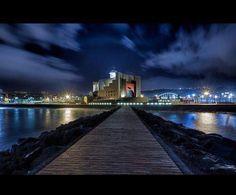 Alfredo Kraus Auditorium, Las Palmas de Gran Canaria Tenerife, Alfredo Kraus, Canario, Canary Islands, Tower Bridge, Perfect Place, New York Skyline, Beautiful Places, Places To Visit