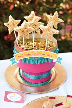 "Bibbidi Bobbidi Boo ""Wish Upon A Star"" Wands for a Princess Party"