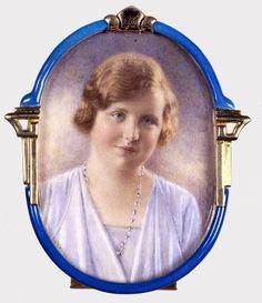 Portret van Prinses Juliana