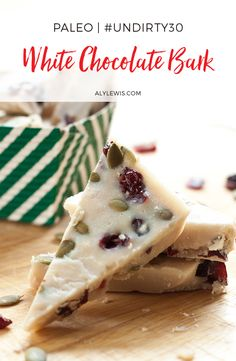 Holiday Sweets & Treats Recipe eBook gives you 10 gluten-free, grain-free and refined sugar-free for a healthy and pain-free holidays. Healthy Dessert Recipes, Desserts, White Chocolate, Grain Free, Sugar Free, Gluten Free, Sweets, Holiday, Tailgate Desserts