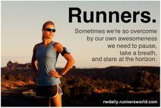 Les bons moments de la course à pied!