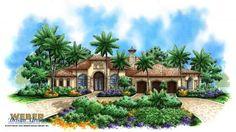 Mediterra House Plan-Mediterranean House Plans