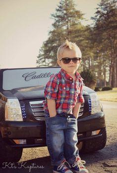 Kids | boy | toddler | photo | photography | nikon | ktskaptures | car | Cadillac