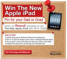 Enter to win The New Apple iPad from #Buycom http://on.fb.me/IEA7tS