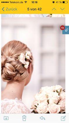 Wedding Hairstyle made by Prinzessinzauber  Foto von Anja Schneemann