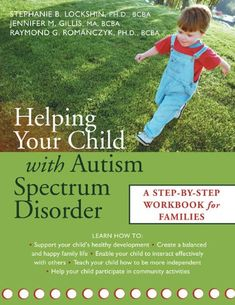 When our son was first diagnosed with autism in 2010-11, this was the first book that we were given by his ABA therapists and  psychologists. The journey continues.....