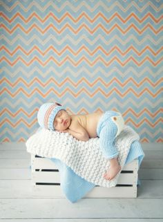Newborn knit pants with flap-bottom - available in any color!