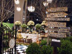 Alice in Wonderland makes Disney come to Philadelphia at the 2013 Flower Show: Brilliant