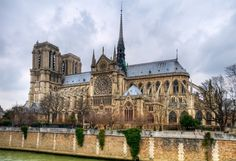 Norte Dame-Paris, France from the Gallery of Peter Talke