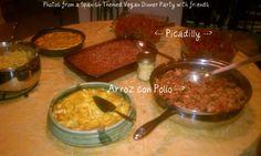 Vegan Spanish-inspired Dinner Party