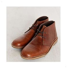 Urban Outfitters Leather Desert Boot