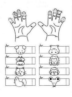 #kuklakalıbı #parmakkukla #yüzükkukla #puppet #finger puppets #okulöncesi #sınıfetkinliği #anasınıfı #kalıplar