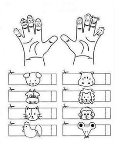 ANIMALS FINGER PUPPETS |