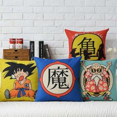 Just in to our Pillow collection! Kawaiiiii :3 Japanese Style Dragon Ball Plush Pillows - 5 Different Styles