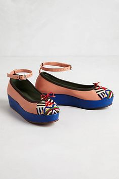 Kemari Wedges #anthropologie....so great with jeans!!!