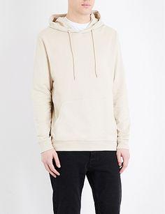 TOPMAN Oversized cotton-jersey hoody