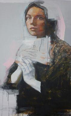Portrait Sans Titre 1    http://www.edgar-manuel-marcos.com/