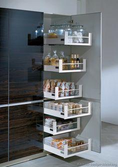 Modern Two-Tone Kitchen Cabinets  #05 (Alno.com, Kitchen-Design-Ideas.org)