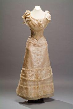 Evening dress, 1890's