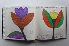 LAURA GUILLÉN 9-11-15 DIARIO SKETCHBOOK ARTE ART ARTISTA ARTIST AMOR LOVE FLORES FLOWERS NATURALEZA NATURE BEBE BABY