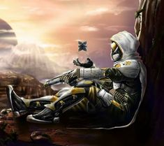 Lone Wolf(female Smash Characters X Male destiny Hunter) - destiny Destiny Hunter, Destiny Cayde 6, Destiny Comic, Destiny Bungie, Cry Anime, Anime Art, Space Warriors, Pokemon, Before The Fall