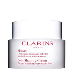 Body Shaping Cream targets the entire body! #clarins #slim