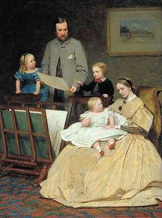 James Hayllar (1829 – 1920, English)