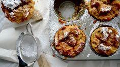 Pouding au pain à l'érable Fudge, Biscuits, Cobbler, French Toast, Tasty, Lunch, Vegan, Breakfast, Sweet
