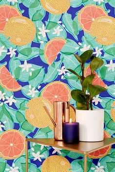 STYLECASTER | 2019 Wants You to Fill Your Home with Bold Print Wallpaper