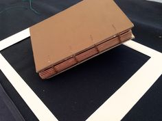 a re-hand-sewn binding