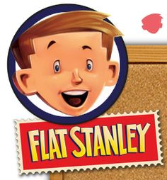 flat stanley, template and letter