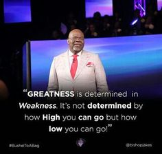 Bishop Jakes quotes from instagram. Td Jakes Quotes, Bible Quotes, Me Quotes, Bishop Jakes, Sunday Worship, Godly Man, Daily Motivation, Self Help, Life Lessons